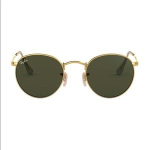 Ray Ban around Metal Sunglasses
